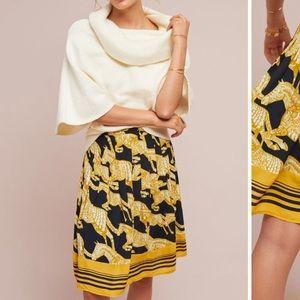 Anthropologie Jade A-Line Skirt